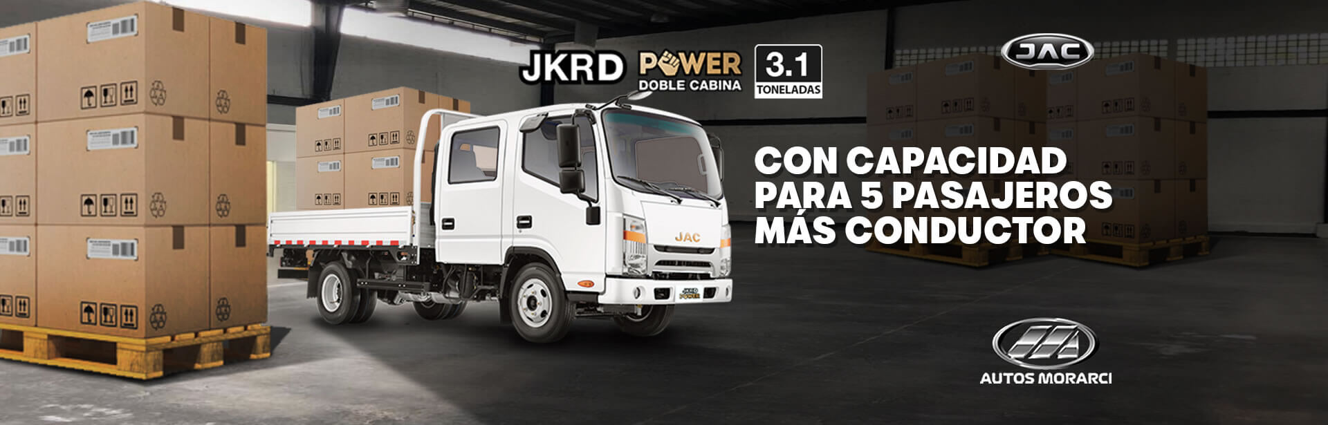 JKRD DOBLE CABINA POWER