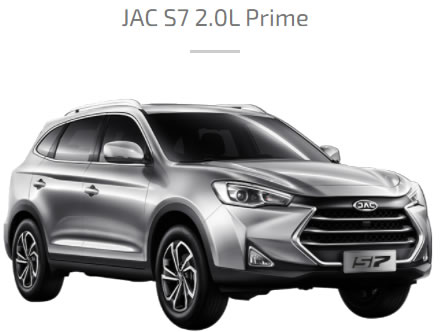 JAC S7 PRIME