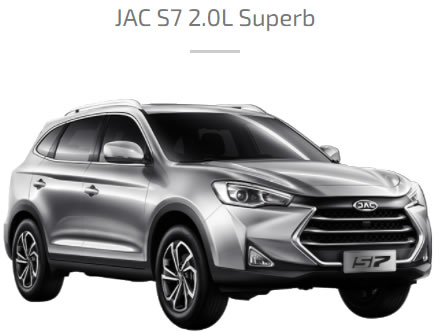 JAC S7 SUPERB