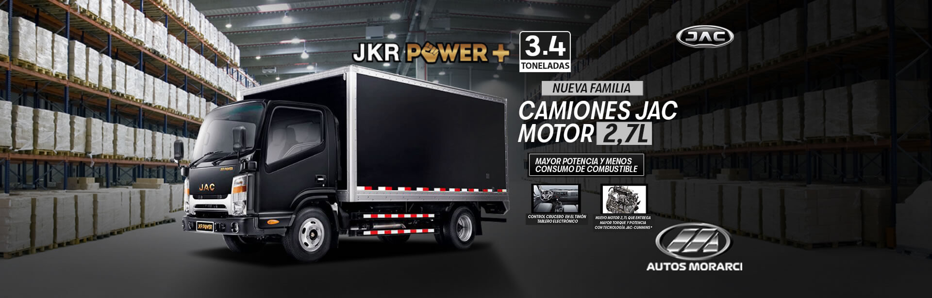 JKR Medio Power +